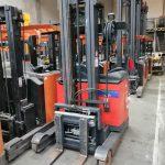 Linde R16S-12 // Seitenschieber / Zinkenverstellgerät / 3.+4. Ventil / HH 6.100 mm / FH 1.730 mm / Triplex