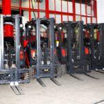 8FBE20T // 1.067 Std. / Seitenschieber / 3. Ventil / Containerfähig / HH 4.700 mm / FH 1.580 mm / Tripelx