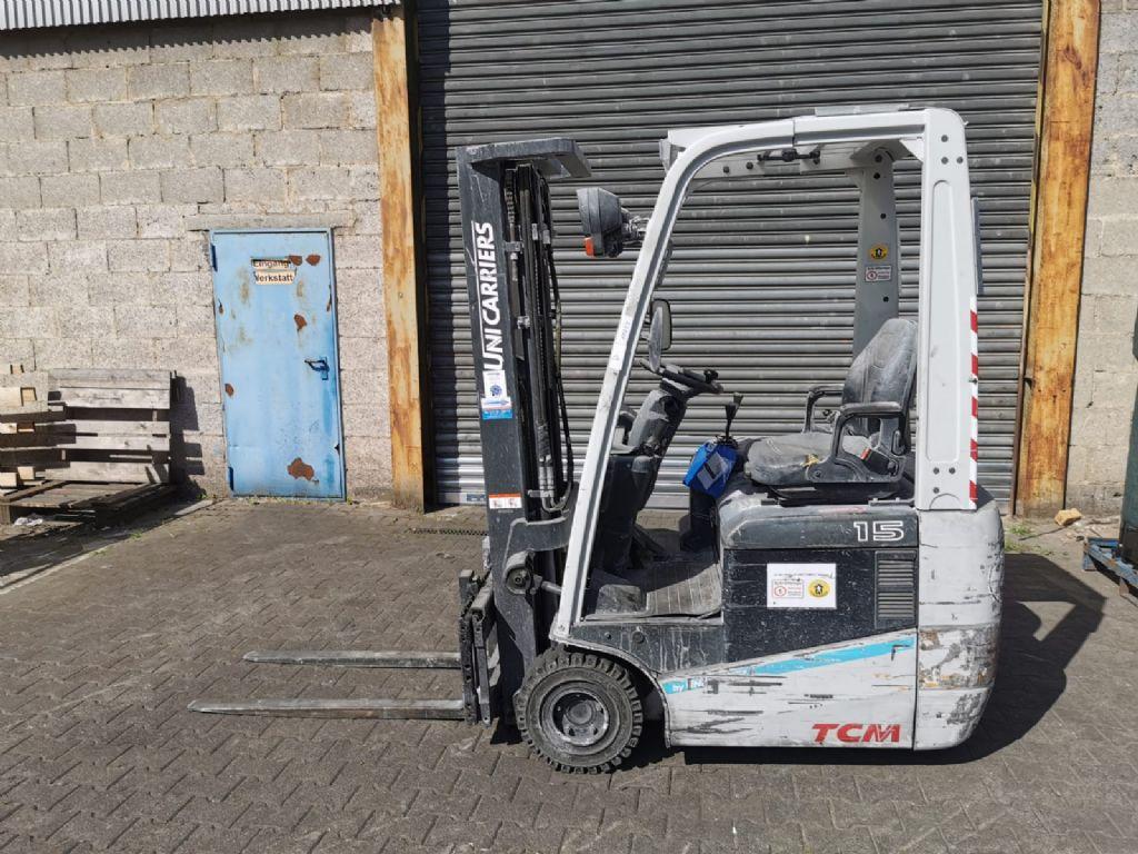 TCM FTB15 E1S // 1.508 Std. / Containerfähig / Seitenschieber / 3. Ventil / HH 4.750 mm / FH 1.505 mm / Triplex